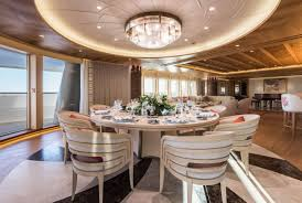 amels yachts charterworld luxury yachts for charter 42 of 105 amels 272 limited edition the dining room