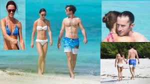 pippa middleton beach body toned on honeymoon with james
