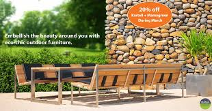 Eco Outdoor Furniture by Outdoor Furniture Sr Hughes