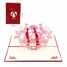 Wedding Invitation Cards China Online Buy Wholesale Pop Up Wedding Invitations Card From China