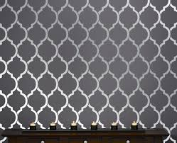 wall pattern stenciling is an excellent way to produce beautiful effects on your