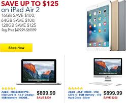 ipad air 2 black friday best buy offering black friday deals on iphones ipads macs