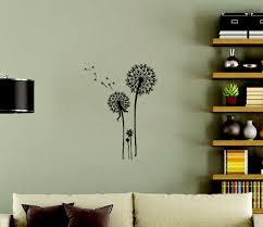 dandelion flower wall stickers decals popular wall art dandelion flower wall stickers decals popular wall art loading zoom