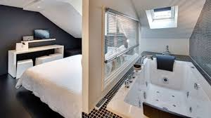 salle de bain ouverte dans chambre black and white 4561660 lzzy co