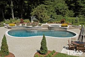 Exposed Aggregate Patio Pictures by Exposed Aggregate Concrete Triad Associates