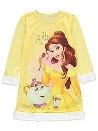 disney princess belle nightdress cape accessory kids george