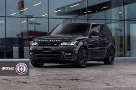 range rover sport custom wheels range rover sport with hre p93l in satin black hre performance