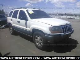 2001 jeep grand interior used 2001 jeep grand laredo car for sale at auctionexport