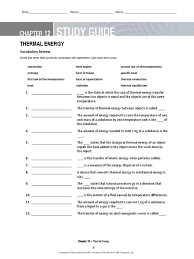 Mcgraw Hill Worksheet Answers Ch 12 Study Guide Laws Of Thermodynamics Heat