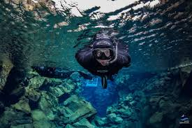 jeep snorkel underwater snorkeling in silfra fissure from reykjavik day tour arctic