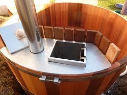 jacuzzi bois exterieur pour terrasse bain nordique bois haut de gamme fabriqué en france obiozz