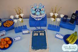 doctor who birthday party ideas photo 1 of 23 catch my party