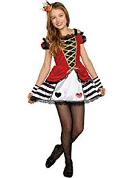 amazon com queen of hearts costume large toys u0026 games
