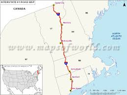 road map connecticut usa us interstate 91 i 91 map new connecticut