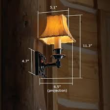 Electric Candle Sconce Durham Candle Sconce Lights Rustic Interior Brass Light Gallery