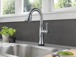 one touch kitchen faucet interior touch kitchen faucet delta 9192t sssd dst delta