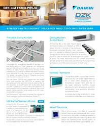 daikin zoning kit combined with dc ducted ceiling unit daikin
