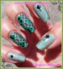 nail art stamping mania china glaze he u0027s going in circles and