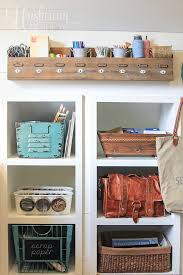 Desk Organization Ideas Creative Thrifty Small Space Craft Room Organization Ideas