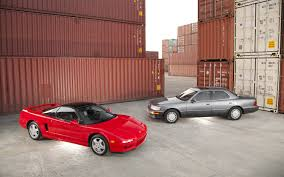 lexus german or japanese 1991 acura nsx and 1991 lexus ls 400 motor trend classic