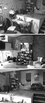 before and after this loft apartment was updated with white