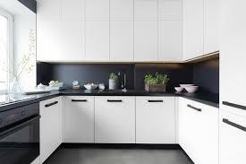 deco cuisine noir déco cuisine noir et blanc stunning cuisine noir et blanc pictures