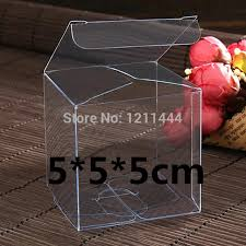 where to buy boxes for presents aliexpress buy 5 5 5 150pcs clear plastic wedding and
