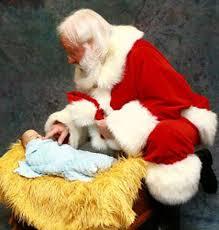 santa and baby jesus baby jesus beautiful photos santa holding baby jesus