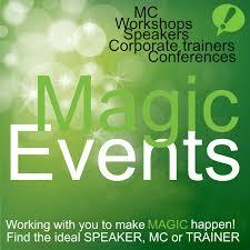 the bureau trainer magic events podcast garden