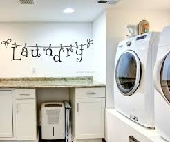 How To Decorate A Laundry Room Decoration Laundry Room Large Size Of Decent Wall Decor Ideas