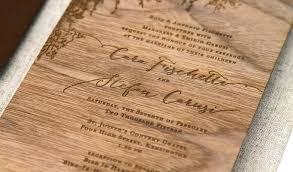 wooden wedding invitations wood wedding invitations 4147 in addition to laser engraved walnut