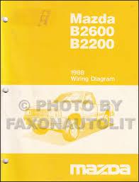 1988 mazda pickup truck repair shop manual original b2200 u0026 b2600