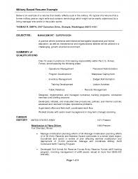 Inexperienced Resume Examples by Army Infantry Resume Examples Experience Resumes