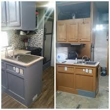 easy rv remodels on a budget 45 before and after pictures rv