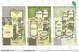 3 Bedroom Villa Floor Plans by Al Forsan Village Apartment Properties Villa Townhouse Khalifa