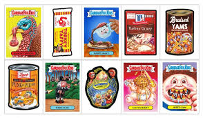 2017 topps gpk wacky packages thanksgiving checklist details