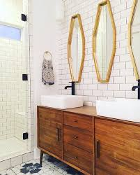 Retro Bathroom Taps Best 25 Mid Century Bathroom Vanity Ideas On Pinterest Mid