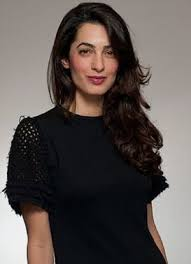 is amal clooney hair one length style icon amal alamuddin clooney style icons icons and