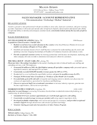 Sample Resume Of Sales Manager Sample Resume For Pharmaceutical Sales Manager
