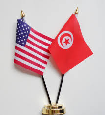 Flag Of The United States Of America United States Of America U0026 Tunisia Friendship Table Flag