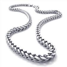 titanium curb chain necklace images 25 best men necklace images men necklace jewelery jpg