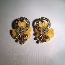 50s earrings 63 jewelry stunning late 50 s early 60 s vintage earrings