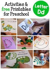 letter d activities for preschool the measured mom