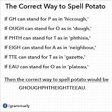 Grammarly Memes - potato spelling jpg
