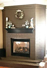 articles with ugly brick fireplace mantel tag cozy ugly brick