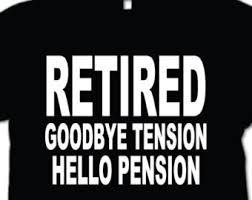 goodbye tension hello pension t shirt hello pension etsy