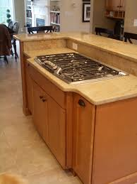 Candlelight Kitchen Cabinets Maple Kitchen Cabinets Stainless Steel Cooktop Granite