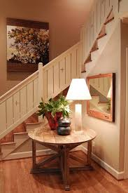 Stair Banisters And Railings Ideas Stair Railing Ideas Hall Rustic With Wood Stairs Synthetic Tread Rugs