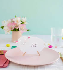 diy place cards easter sheep place cards diy