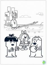 wow wow wubbzy coloring page coloring home
